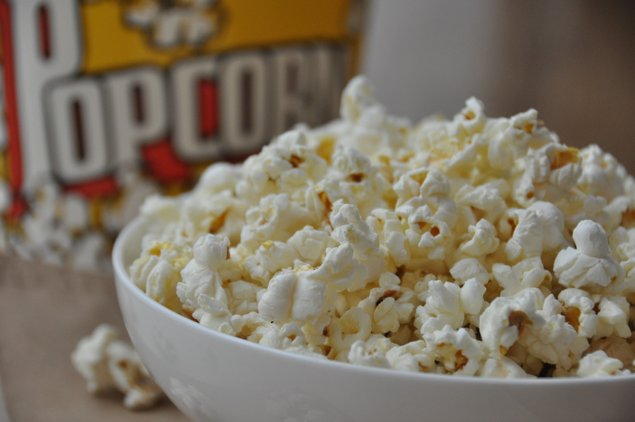 At home popcorn