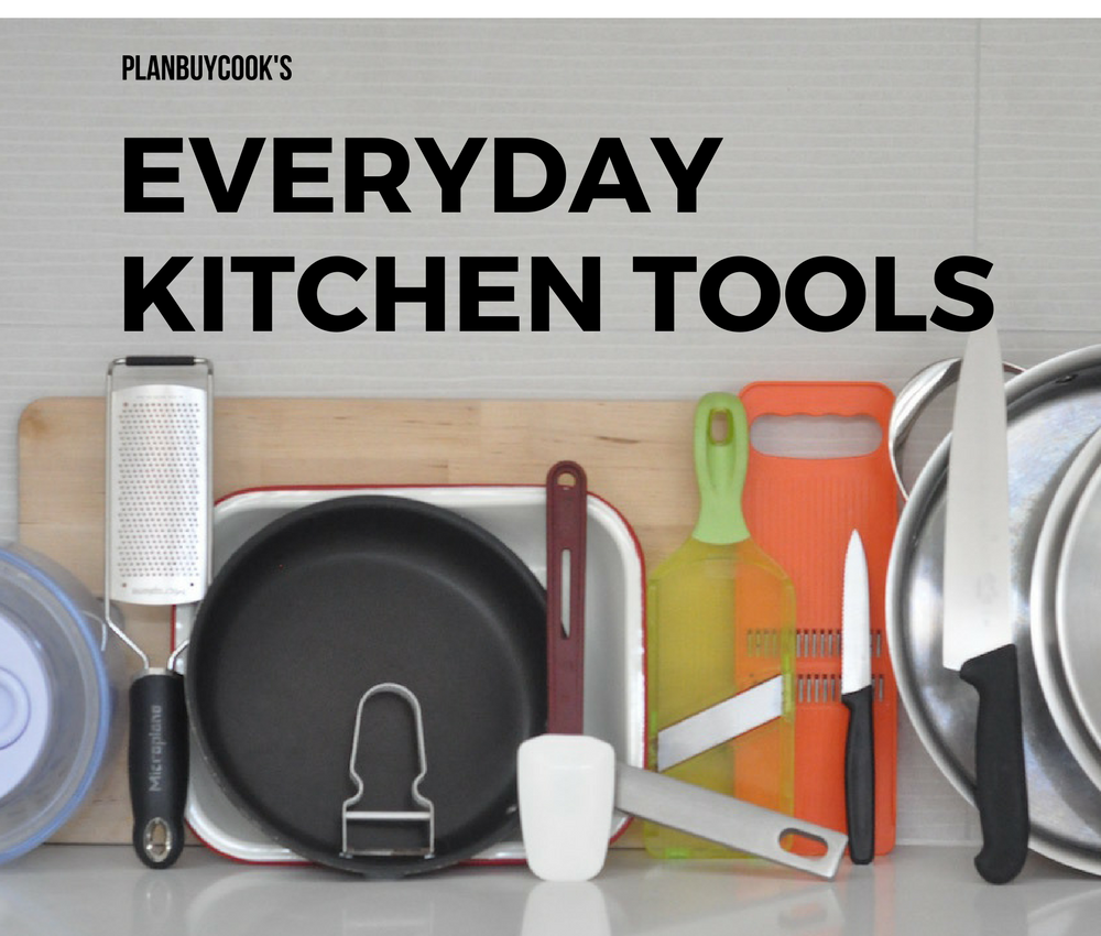 The only utensils you need in your kitchen
