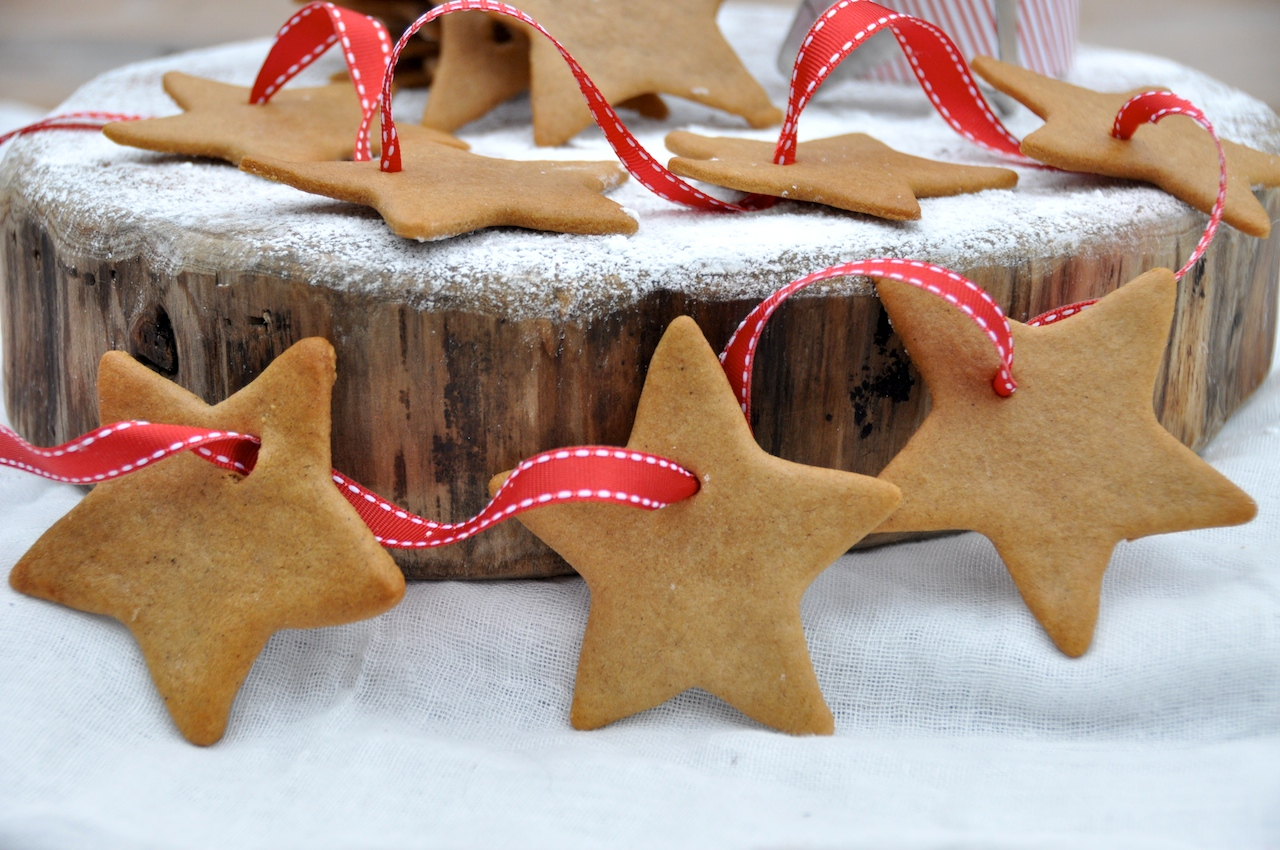 Christmas ginger stars