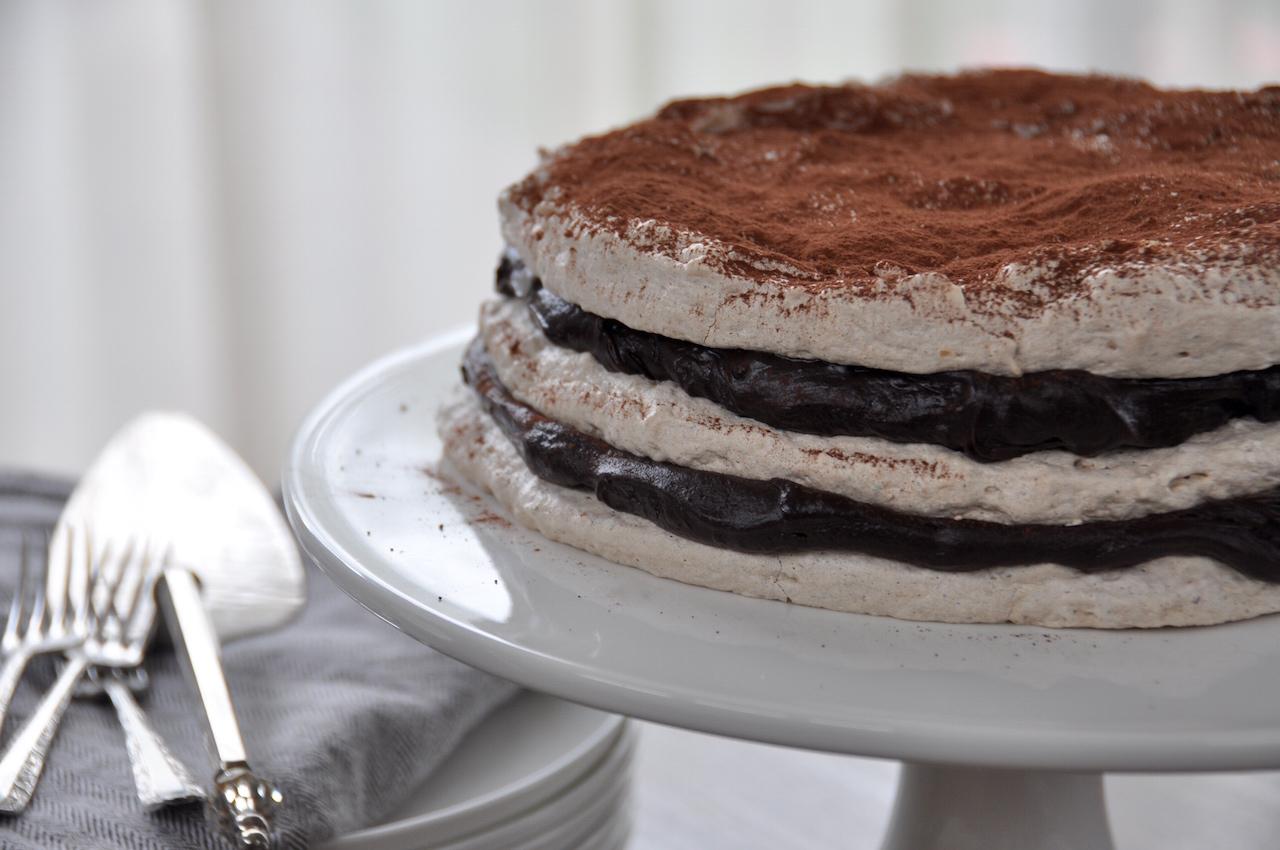 Easter meringue torte