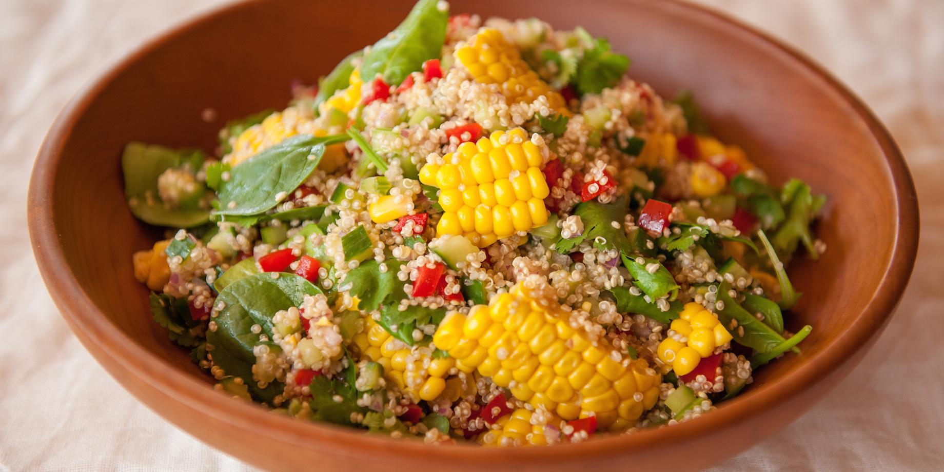 Keen on quinoa