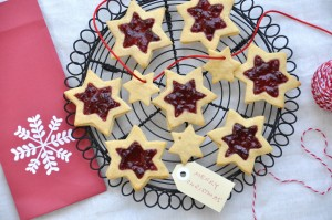 XMAS STAR BISCUITS