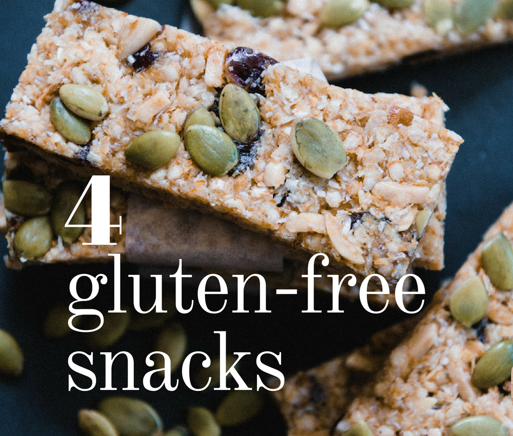 4 simple gluten-free after school snacks