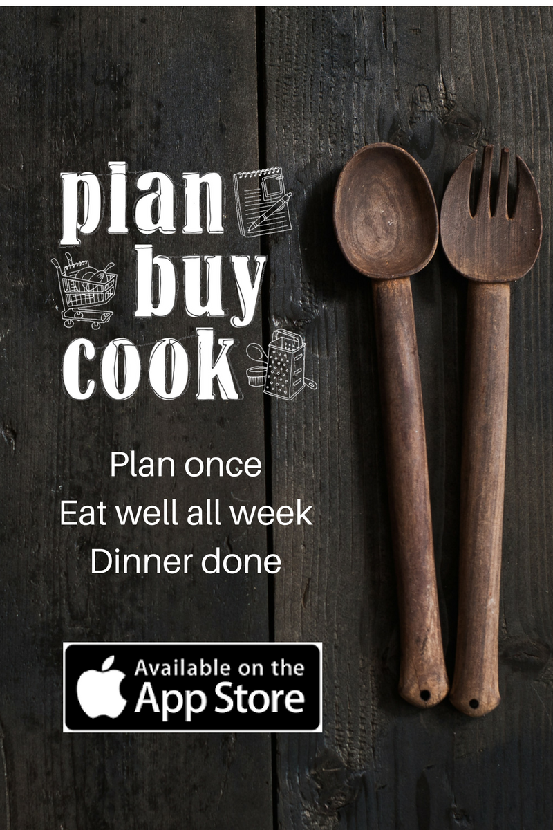 Plan Buy Cook App Ad