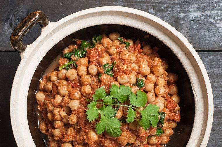 Chick pea curry