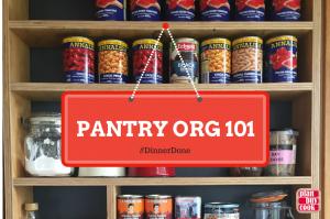 Pantry organisation 101