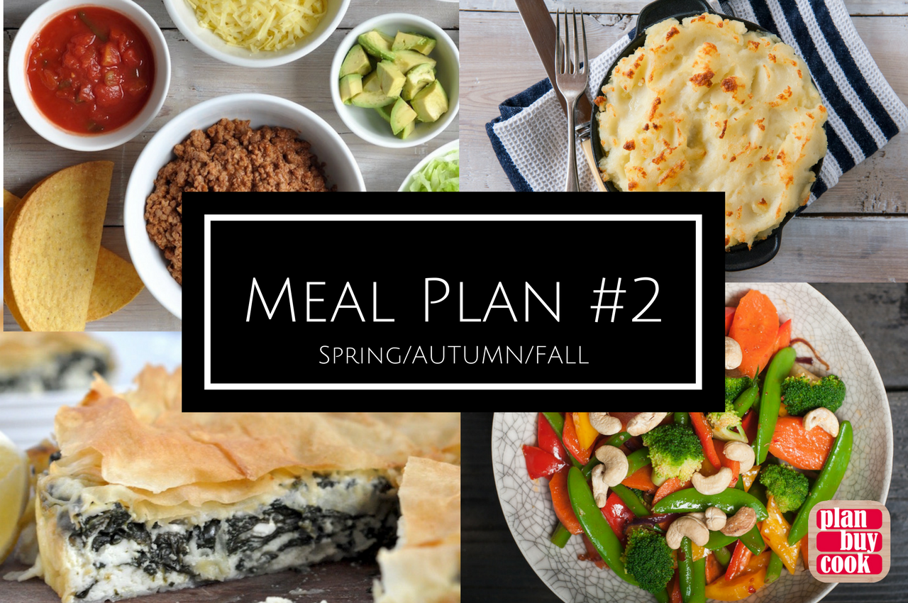 Spring Autumn Fall Meal Plan