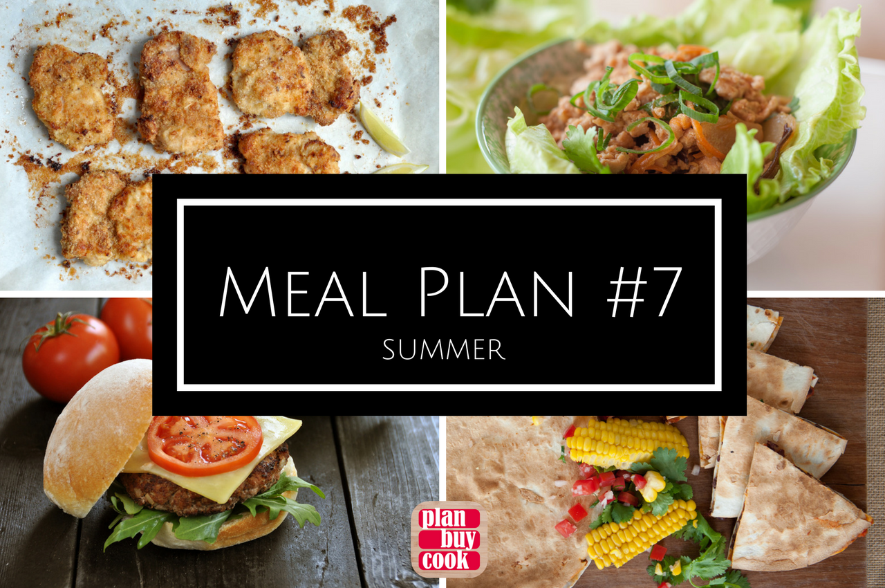 A guide to summer eating from PlanBuyCook