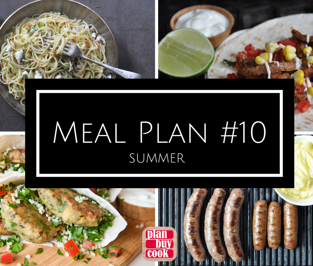 Meal plan #10 – Summer