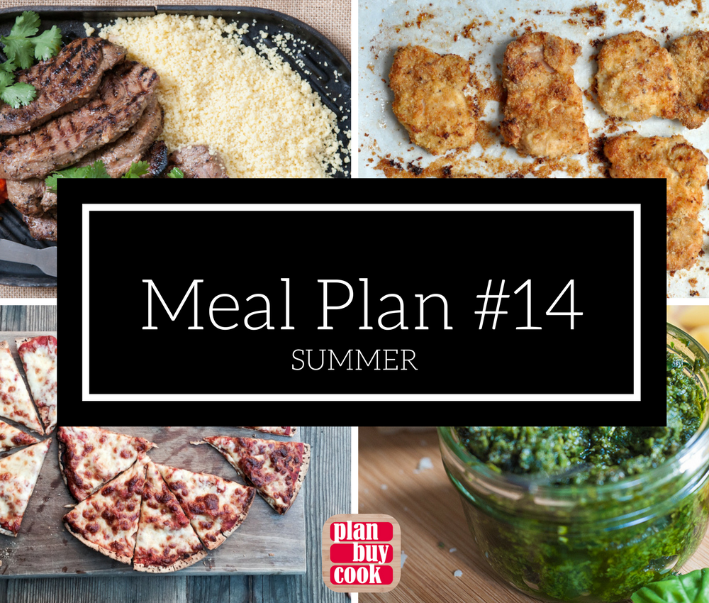 Meal plan #14 – Summer