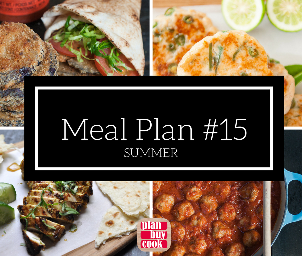 Meal plan #15 – Summer