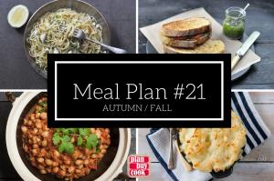 Meal plan #21 – Autumn/Fall