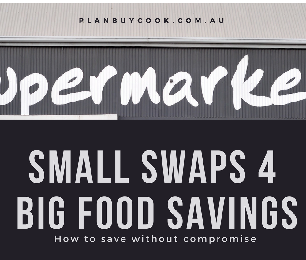 Small swaps for big savings at the checkout