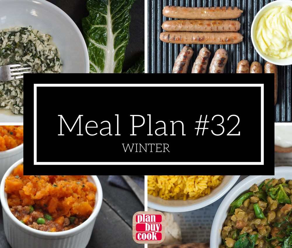 Meal plan #32 – Winter