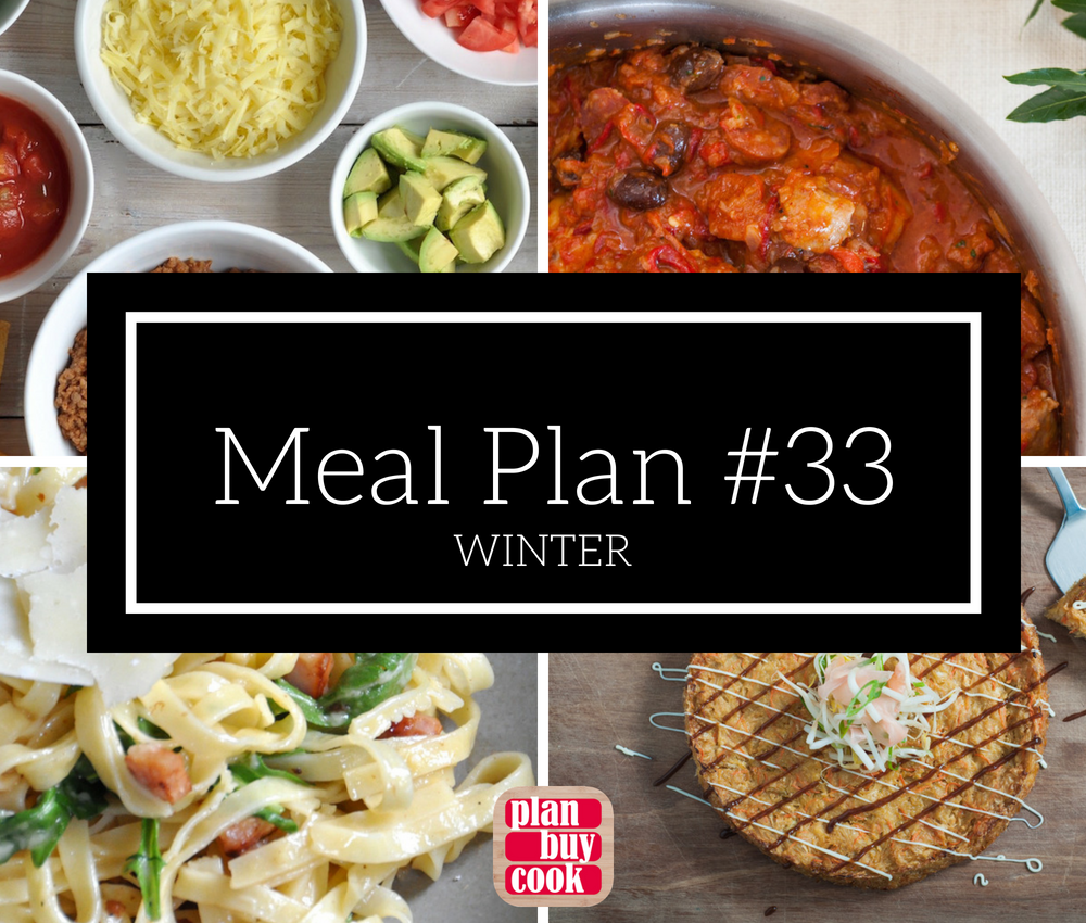 Meal plan #33 – Winter
