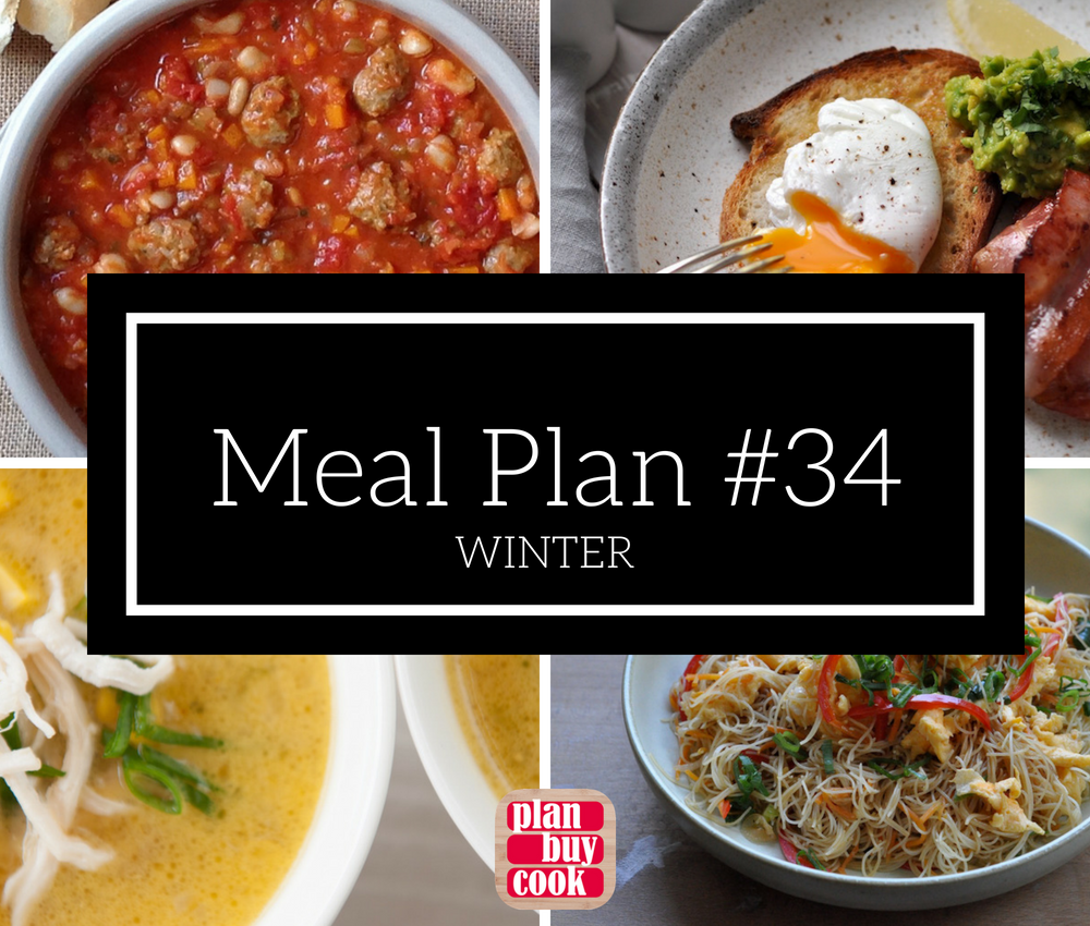 Meal plan #34 – Winter