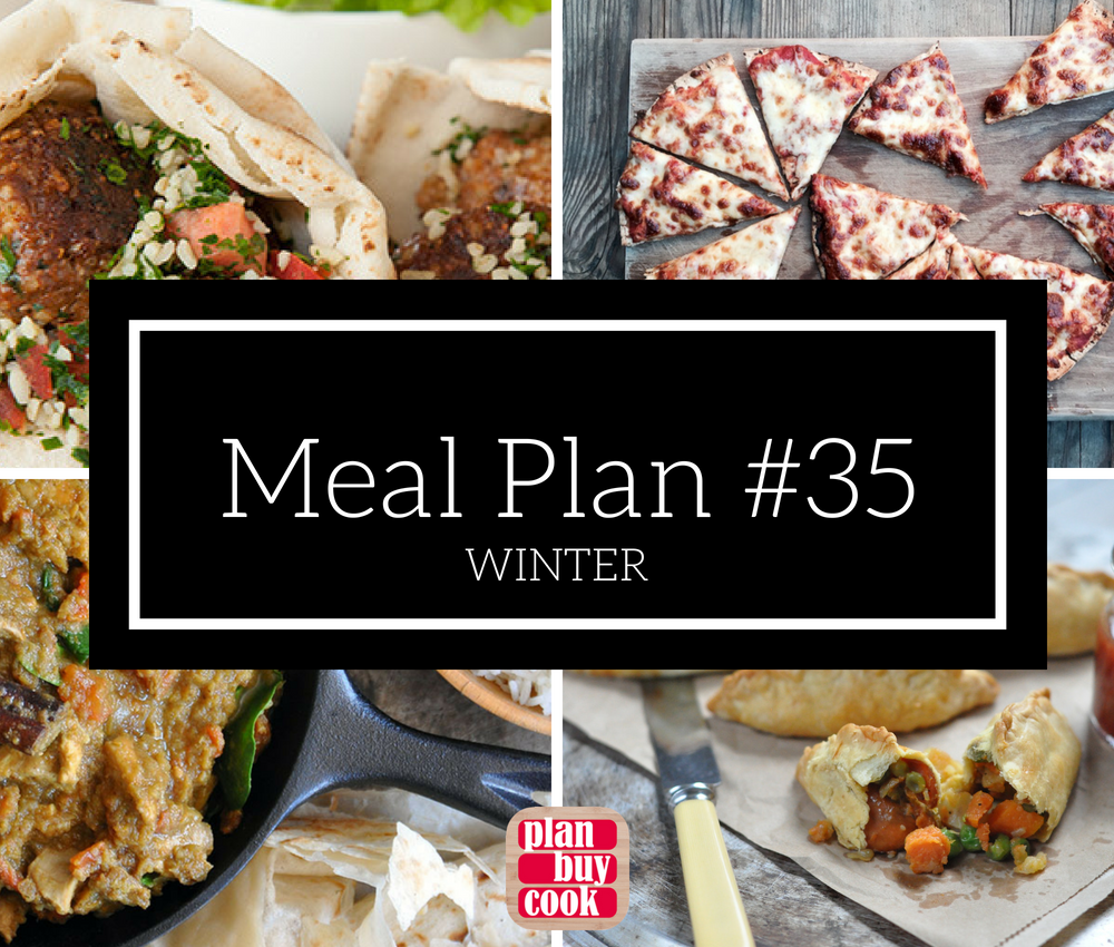 Meal plan #35 – Winter