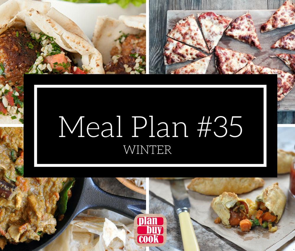 Meal plan #35 –Winter