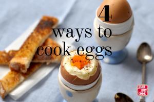 Eggs four ways