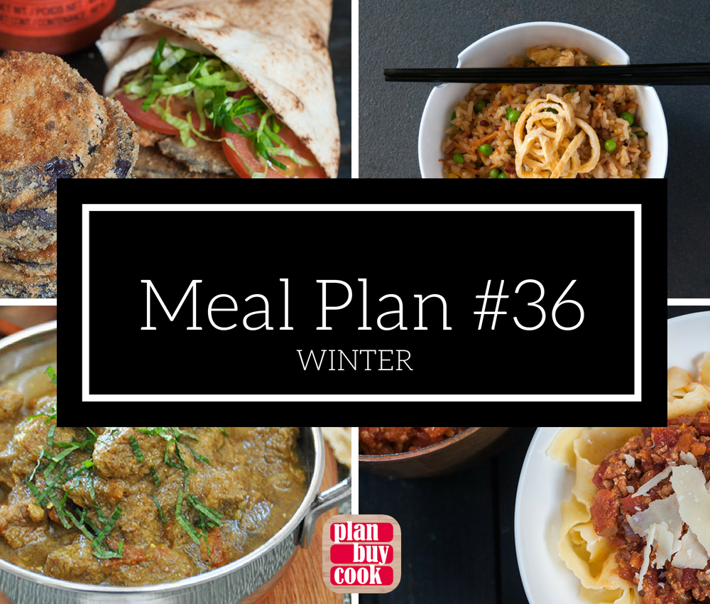 Meal plan #36 – Winter