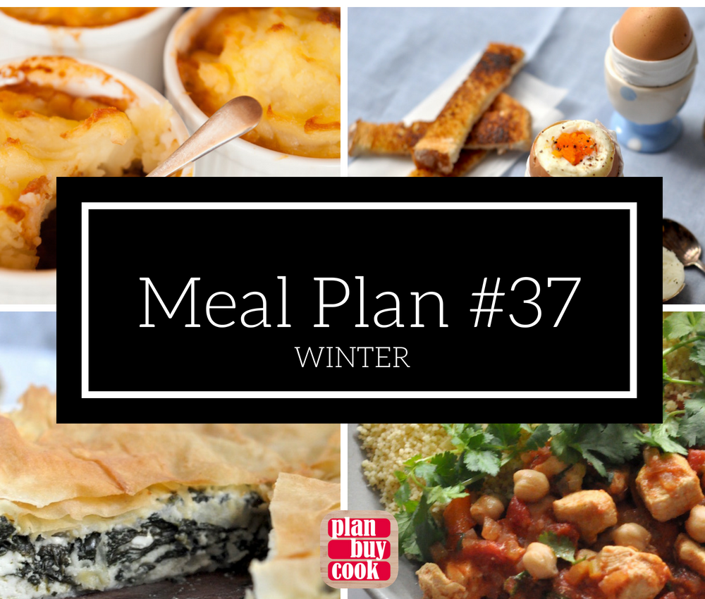 Meal plan #37 – Winter