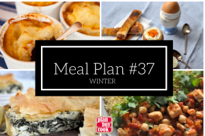 Meal plan #37 – Winter