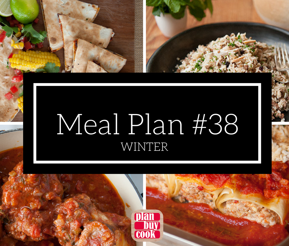 Meal plan #38 – Winter