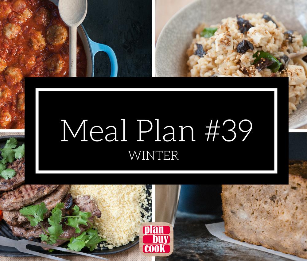 Meal plan #39 – Winter