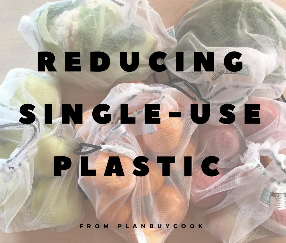 Food storage: alternatives to single-use plastics