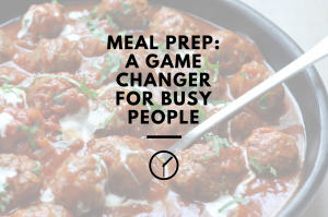 Why meal planning is a game changer for busy people