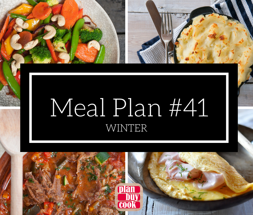 Meal plan #41 – Winter
