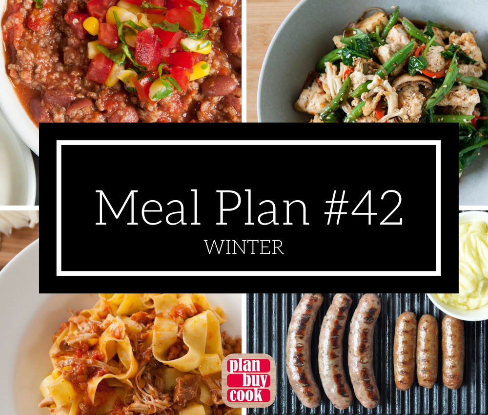 Meal plan #42 – Winter