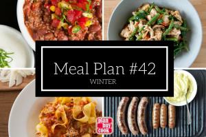 Meal plan #42 – Winter