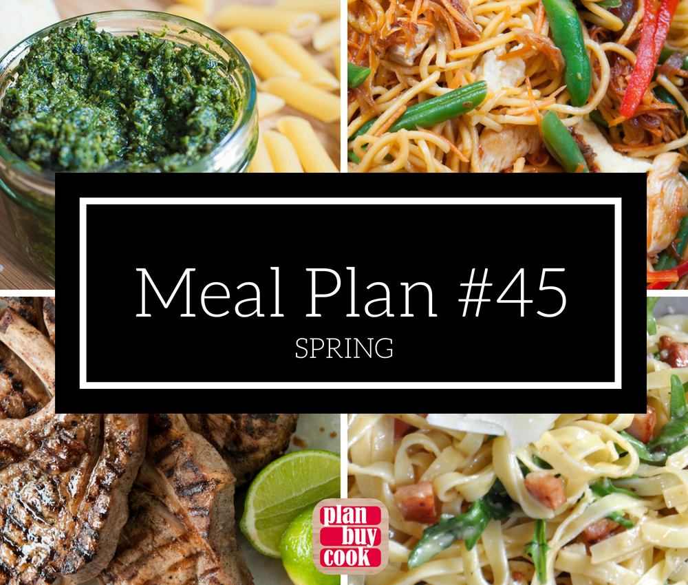 Meal plan 45 – Spring