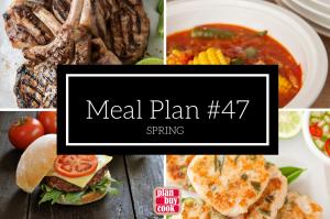 Meal plan #47 – Spring