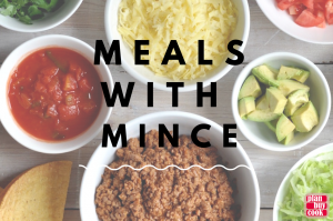 Meals with mince
