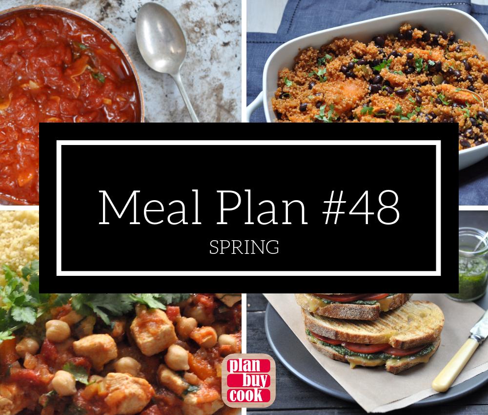 Meal plan #48 – Spring