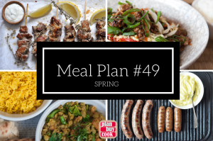 Meal plan #49 – Spring