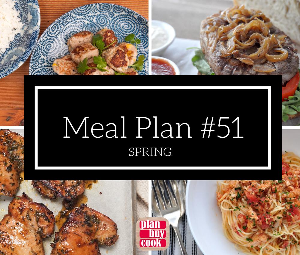 Meal plan #51 – Spring