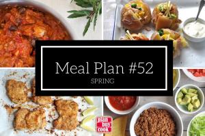 Meal plan #52 – Spring