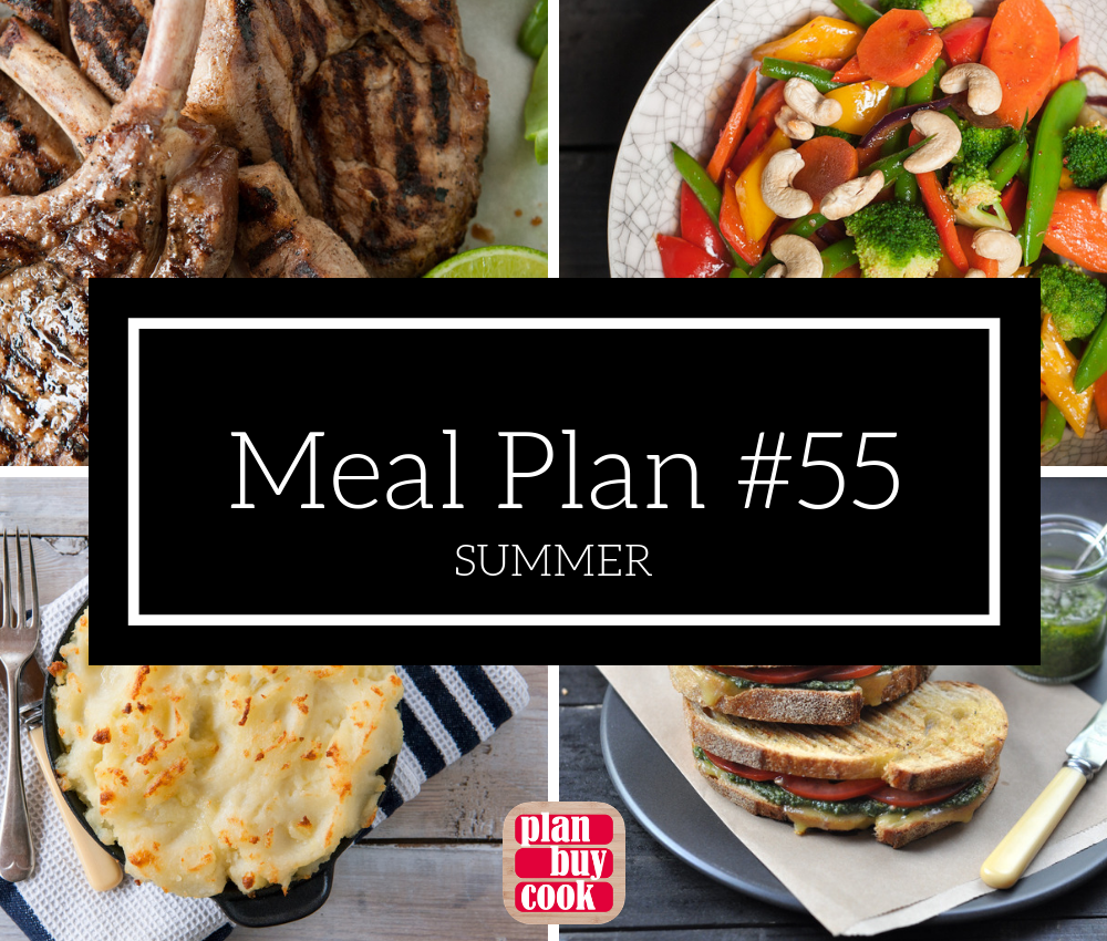 Meal plan #55 – Summer