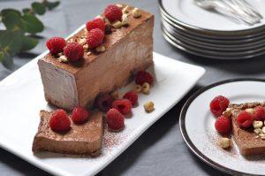 Chocolate hazelnut semifreddo