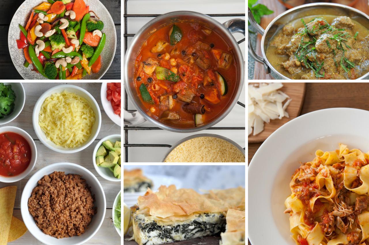 Dinner ideas by cuisine