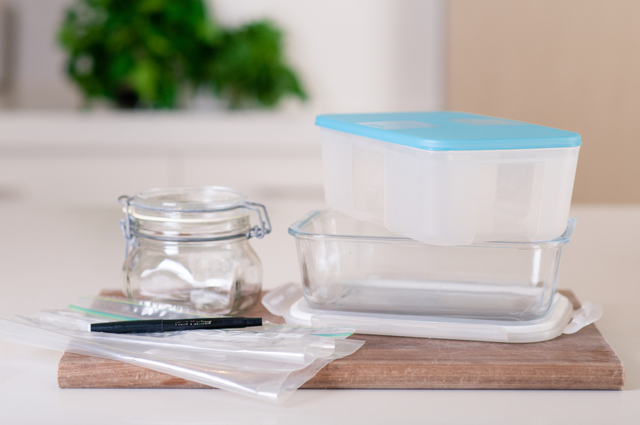 freezer food storage solutions from PlanBuyCook